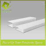 Алюминиевые декоративные квадратные плитки потолка пробки