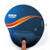 Logotipo feito sob encomenda impresso de Mousepad do descanso de pulso Sublimation ergonómico
