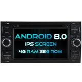 Huit Witson Core Android 8.0 voiture DVD pour Ford Focus 1080P 4G ROM écran tactile 32 Go ROM écran IPS