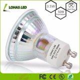Ângulo de feixe de 120 graus GU10 3,5 W 110-240V LED de vidro em destaque