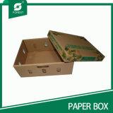 Frutta su ordinazione del documento ondulato di alta qualità/casella di verdure