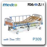 나무로 되는 침대 널, 3개의 기능 전기 자택 요양 침대