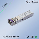 1.25GB/S Single-Mode 100km SFP optische Lautsprecherempfänger-Baugruppe