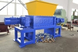 Пластиковый гранулятор трубопровод пленка провод древесины системы паушальных выплат платы Один двойной вал измельчителя