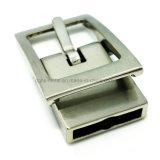 La boucle de courroie réversible en alliage de zinc de Pin de boucle en métal de qualité pour la robe ceinture les sacs à main de chaussures de vêtement (Xwszd530-561)