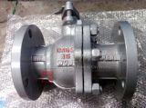 Válvula de esfera elevada da flange da plataforma 2PC do aço inoxidável do molde