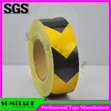 Nastro impermeabile smontabile di sicurezza della marcatura del pavimento del nastro Sh515 di Somi per sicurezza stradale