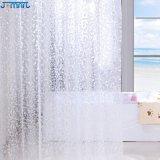 물 입방체 3D 곰팡이 저항하는 EVA 도매 샤워 커튼 강선