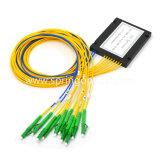 Módulo de ABS 2X8 PLC Splitter de fibra óptica con Sc/APC conector