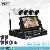 Des P2p-WiFi Installationssatz Kamera-Systems-4CH NVR für Hauptsystem-Sicherheit