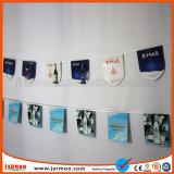 Bandierina poco costosa della stringa della stamina del vinile del PVC (JMS-01)