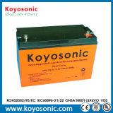 5-Jährige tiefe Schleife-Batterie AGM-tiefe Schleife-Batterie der Garantie-12V