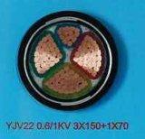 Yjv32 Fio de aço Cabo Blindado Yjv22 Torneira de aço Cabo Blindado
