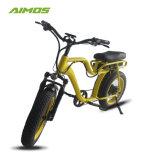 AMS-tde-07 Nouveau modèle de vélo électrique avec le siège de Moto