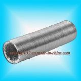 Ventilados de alumínio flexível de borracha liso do ar