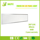 Luz del panel montada superficial al por mayor de SMD2835 LED 48W 300*1200 80lm/W con el Ce, TUV, SAA