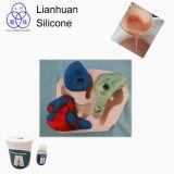 Lianhuan caucho de silicona RTV-2 para hacer escalada tiene moho