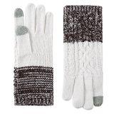 Зимние теплые трикотажные сенсорного экрана пальцем перчатки