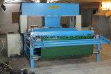 Máquina móvil hidráulica de cuero de la prensa del corte de la pista que viaja