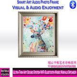 5001の極めて薄い芸術のサウンド・システムWiFi Bluetooth音楽壁画のスピーカー