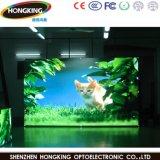 Diodo emissor de luz interno do RGB P6 da tela que anuncia o indicador