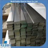 Barra plana de acero inoxidable de la rayita SUS304/del cepillo/del satén