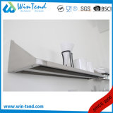 Comercial de manufactura de acero inoxidable con backsplash estante de pared de cocina