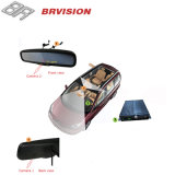 Monitor do espelho de carro do passageiro de Brvision com a câmera dianteira e alternativa