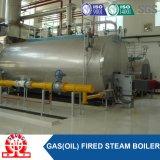 Chaudière à vapeur à gaz d'acier inoxydable de pétrole de haute performance de 96%