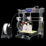 Imprimante 3D de bureau portative de Fdm d'élévation de grande précision d'Anet A8