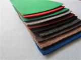 100% Poliéster no tejido de alfombras de perforación de aguja/Costilla Exhibition Carpet