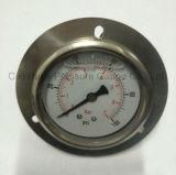 フランジとの2.5inchesすべてのステンレス鋼の圧力計