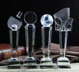 Premi di cristallo di vendita caldi del trofeo