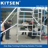 Kitsen 판매를 위한 알루미늄 망원경 비계 탑