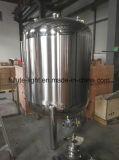 Tanque de mistura farmacêutico do aço inoxidável de 500 litros com misturador magnético