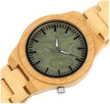 Comercio al por mayor reloj de pulsera reloj de madera de sándalo de la moda con el movimiento de Japón