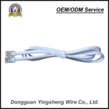 高品質のPur PVC電話のための螺線形ケーブルのばねケーブル