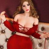 [158كم] كبيرة صدر حمار سمين [أمريكن] لعبة حالة حبّ جنس دمية