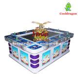 Máquina de jogo video da arcada da caça dos peixes de jogo da pesca do tiro