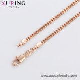 44687 Form-späteste Rosen-Goldfarben-Basisrecheneinheits-Schmucksache-Perlen-Halskette