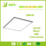 Luz del panel montada superficial al por mayor de SMD4014 Ugr<19 LED 40W 600*600 90lm/W con el Ce, TUV, SAA
