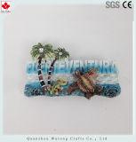 Regalos de recuerdo para turistas océano imán personalizado de resina de estilo de decoración