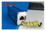 Canal único sinal audio rj11 protector contra sobretensão