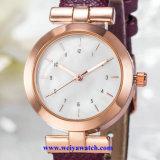 Wist Watch Quartz Movement 공장 공급 숙녀 숙녀 아날로그 시계 (WY-17018)