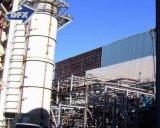 Structure métallique de bâti portique pour l'installation de traitement chimique d'eaux d'égout d'eau usagée
