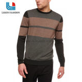 남자의 겨울/가을 둥근 목 기본적인 니트 스웨트 셔츠 잠바
