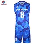 Mieux vendre le sport de bonne qualité de l'usure Stripe Basketball Maillot personnalisé pour le club