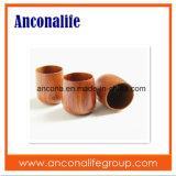 Aduana sus propias tazas de café de bambú cómodas de bambú de Eco de la insignia con la maneta