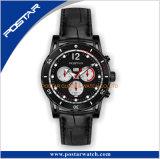 Het dubbele Lichtgevende Horloge van de Chronograaf van de Kalender Bgw9 met Functie Techymeter