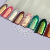 Poudre de colorant de chrome de caméléon de miroir de Multi-Chrome en métal